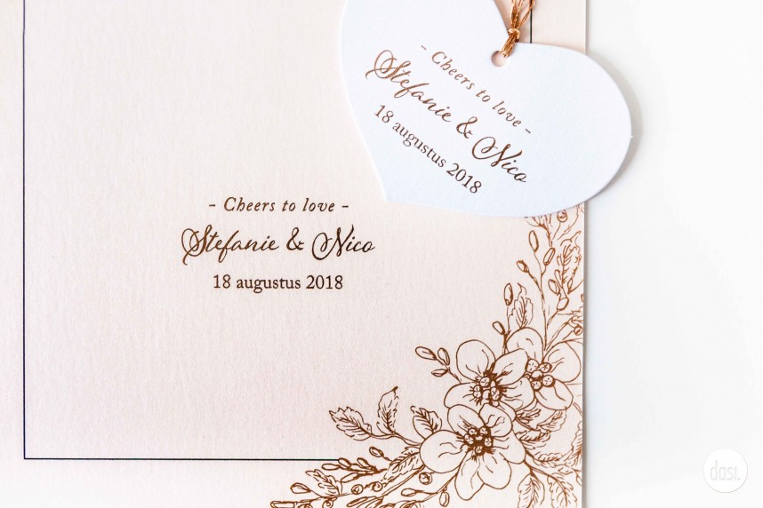 DASI - Trouwuitnodiging - Grafisch ontwerp - Design - Trouwkaart - Trends2019 - House of Weddings - 13