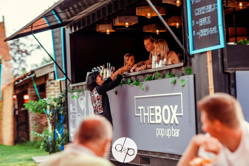 The Box Popup Bar
