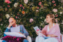Ginger & Ginder - Laura _ Pieter - bloemenwand (c) Kim Meulemans - House of Weddings