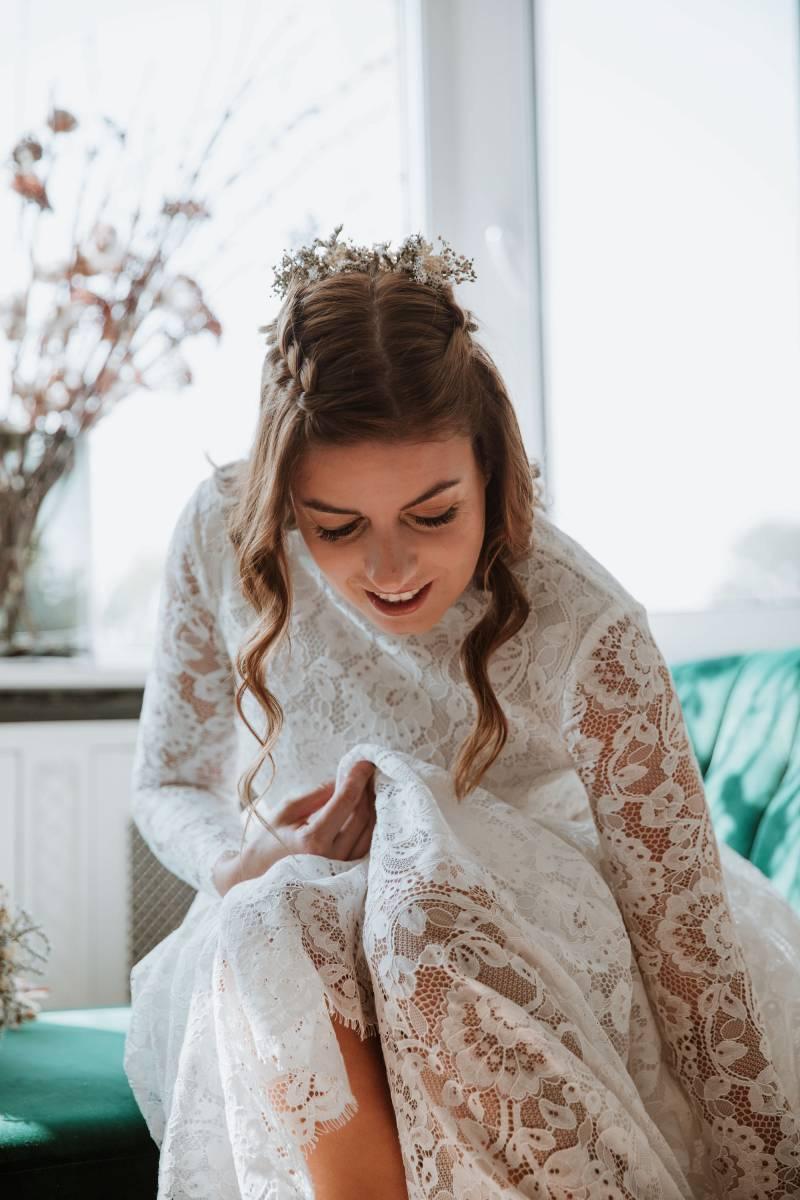 Alissia Porez - IMG_2234 - Model Astrid Dendauw  - Fotograaf Reis Deweirdt - House of Weddings 4