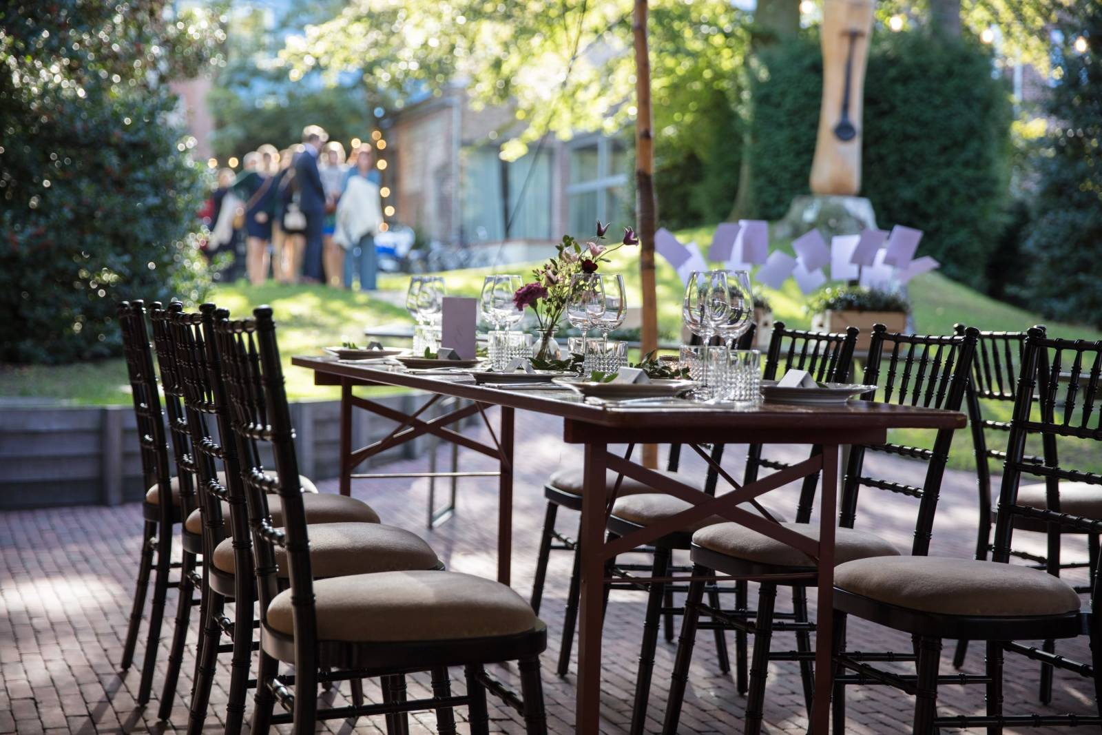 Alix - Table & Jardin d'Amis - Feestzaal - Feesttuin - House of Weddings - 4