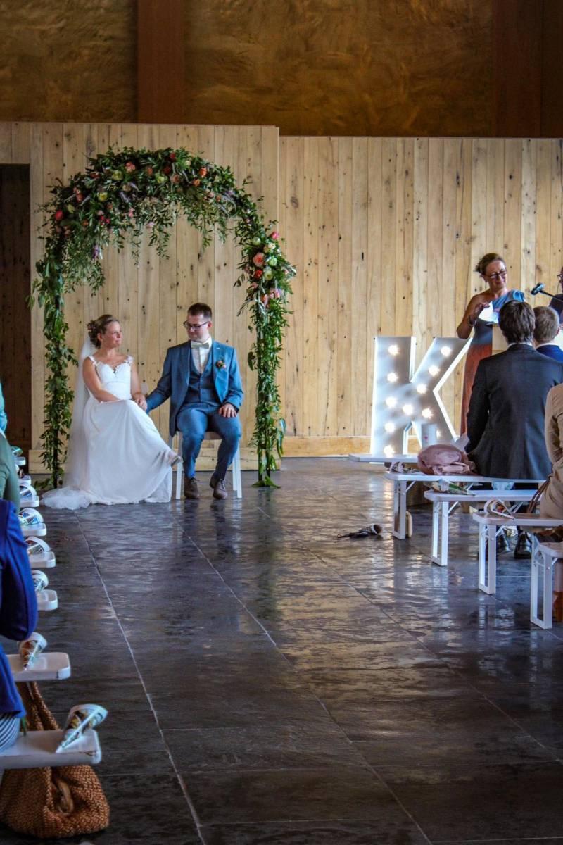 Annick Van Wesemael - Bruidsboeket - Bloemen decoratie - House of Weddings - 2