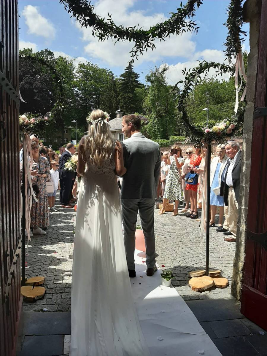 Annick Van Wesemael - Bruidsboeket - Trouwboeket - Bloemen decoratie - House of Weddings - 7