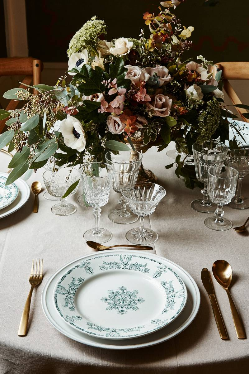 Assiette vintage - Photo Molly SJ Lowe 2