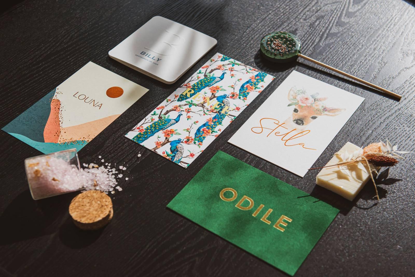 Atelier Maurice - Celien Decloedt - Trouwuitnodigingen en drukwerk - House of Weddings 11
