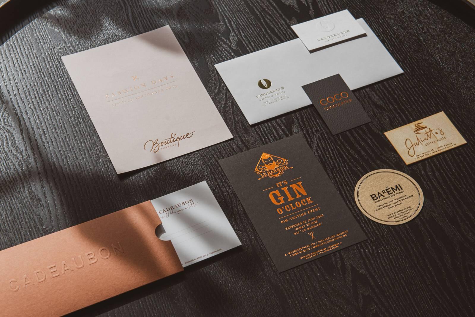 Atelier Maurice - Celien Decloedt - Trouwuitnodigingen en drukwerk - House of Weddings 12