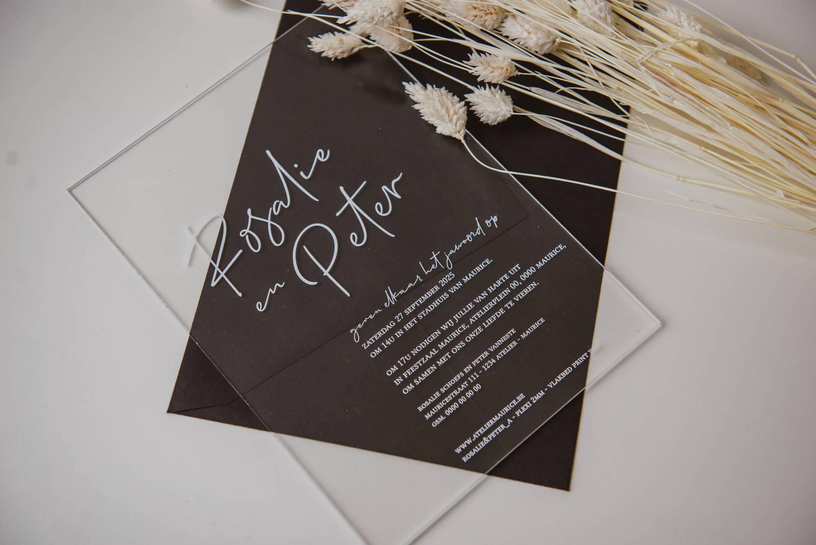 Atelier Maurice - Celien Decloedt - Trouwuitnodigingen en drukwerk - House of Weddings 13