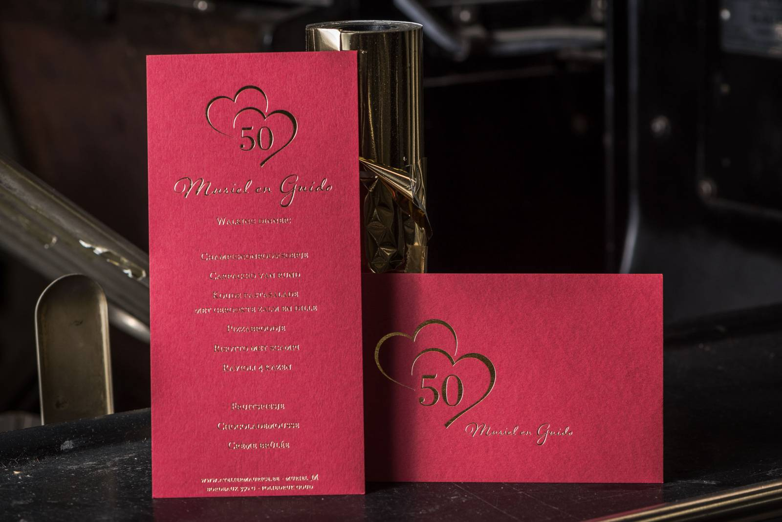 Atelier Maurice - Klaas De Buysser - Trouwuitnodigingen en drukwerk - House of Weddings 6