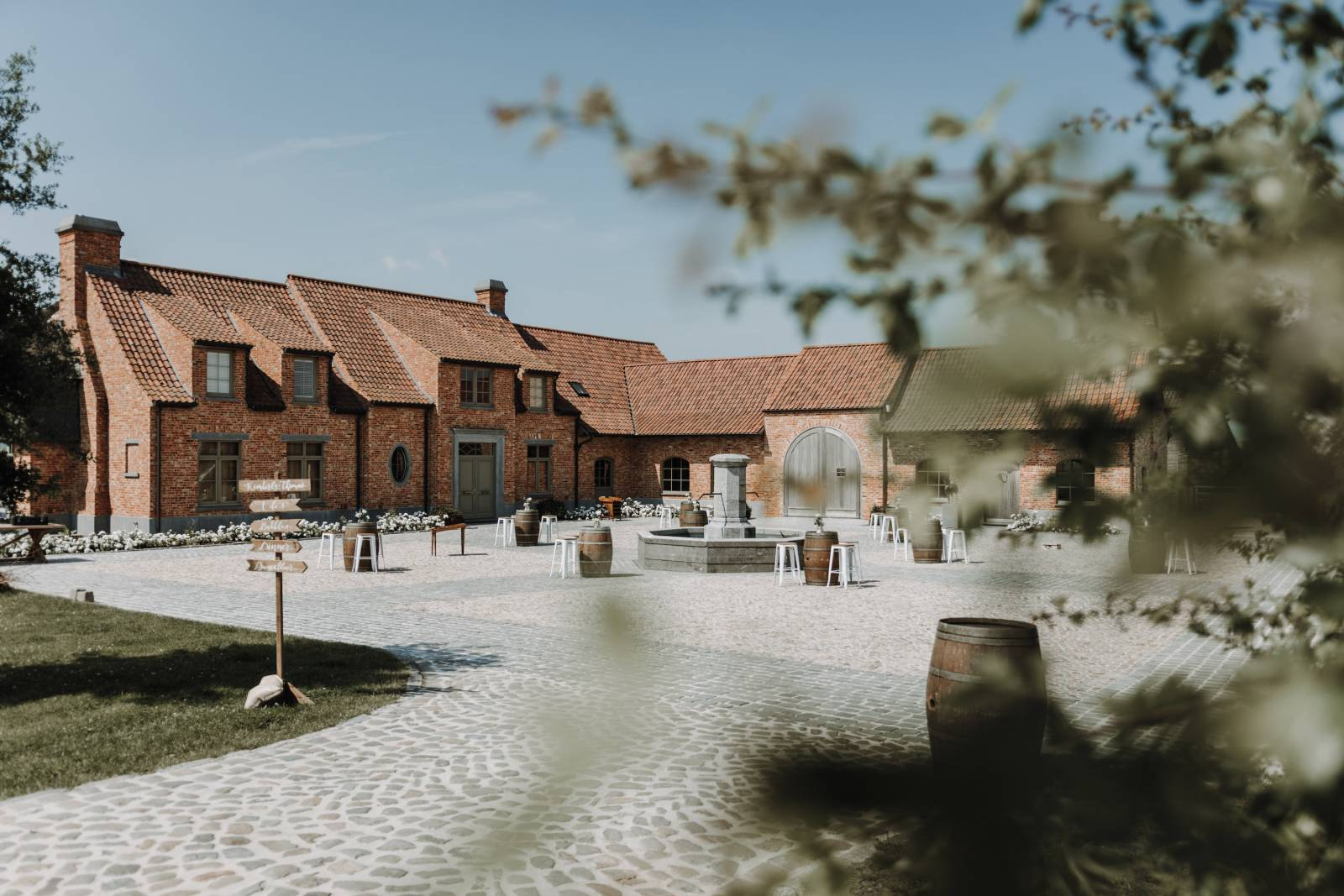 Atelier Rosé - Wedding Planner - House of Weddings © Djorden Vlaeminck Fotografie