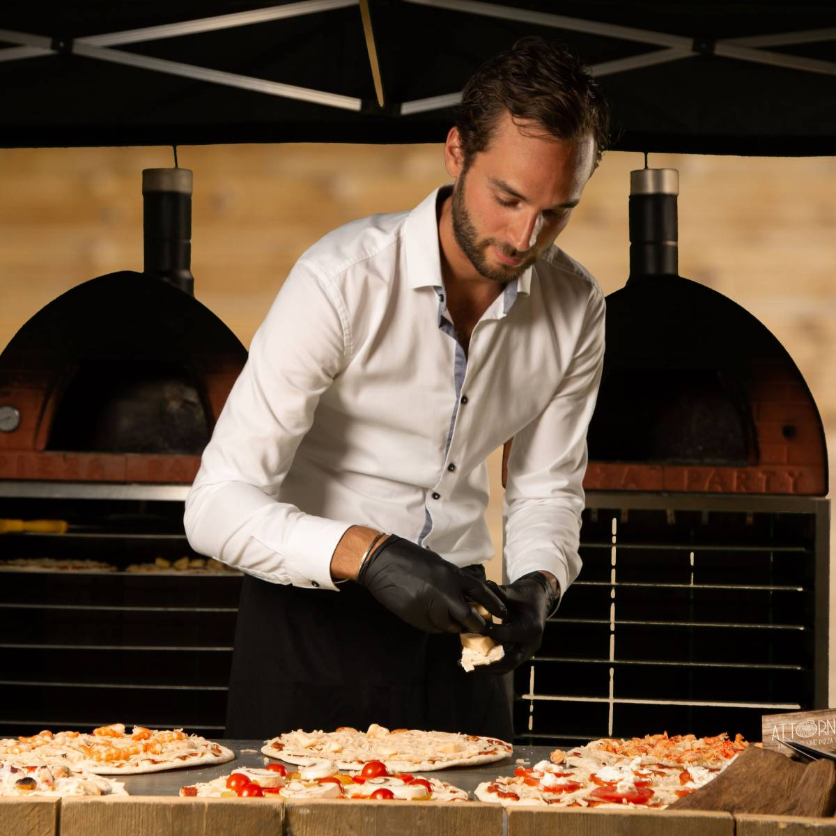 Attorno - Foodtruck - Pizza - House of Weddings - 16