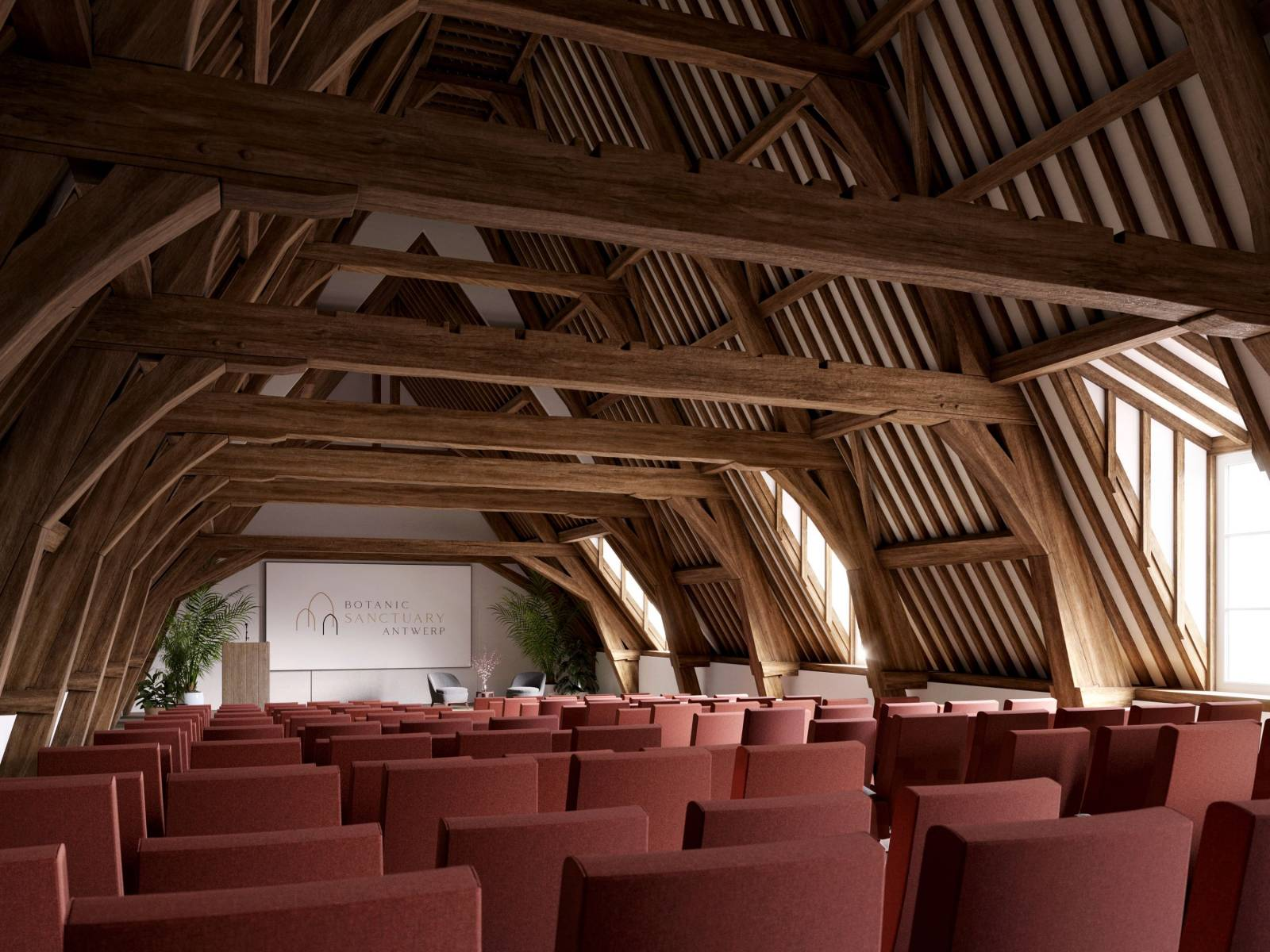 Botanic Sanctuary Antwerp - Feestzaal - House of Weddings - 5