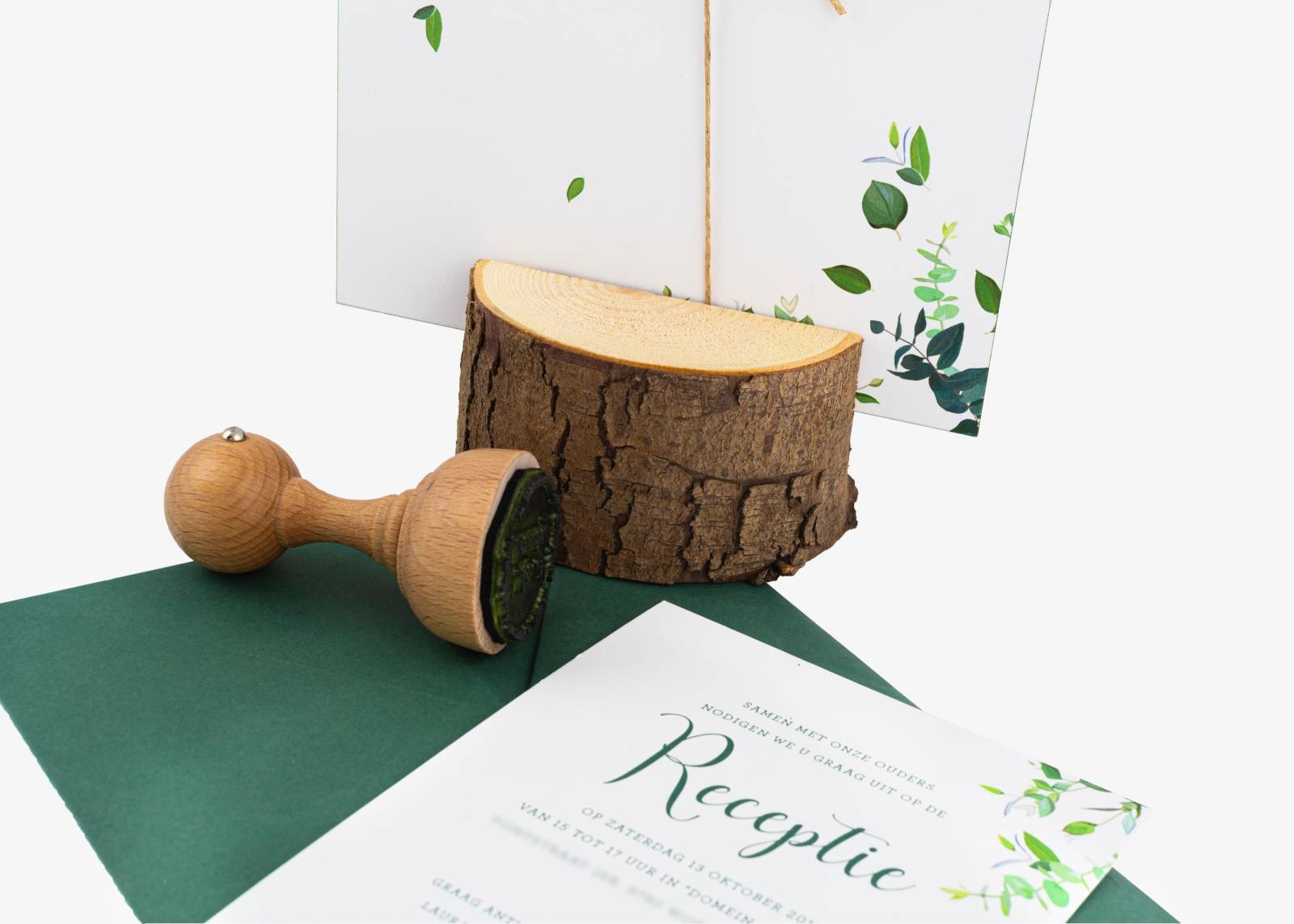 Bravoo - trouwuitnodiging - drukwerk huwelijk - grafisch design - House of Weddings - 1