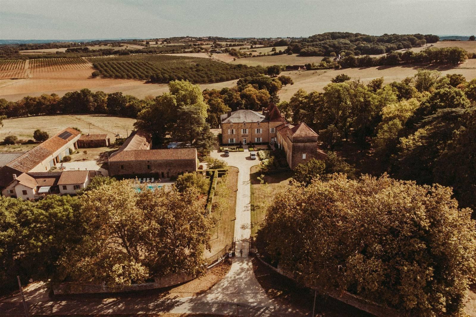 Château de Redon - Feestzaal Trouwzaal Trouwlocatie Frankrijk - House of Weddings - 12