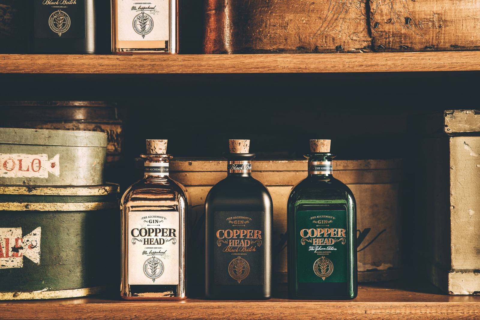 Copperhead Gin - House of Weddings  - 3