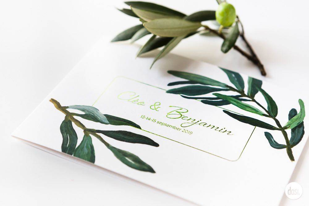 Dasi - Wedding Stationery - Grafisch design - Trouwuitnodiging - Huwelijksuitnodiging - House of Weddings - 1
