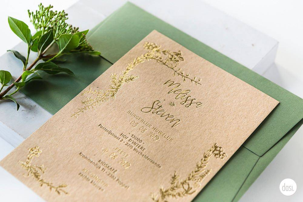 Dasi - Wedding Stationery - Grafisch design - Trouwuitnodiging - Huwelijksuitnodiging - House of Weddings - 11
