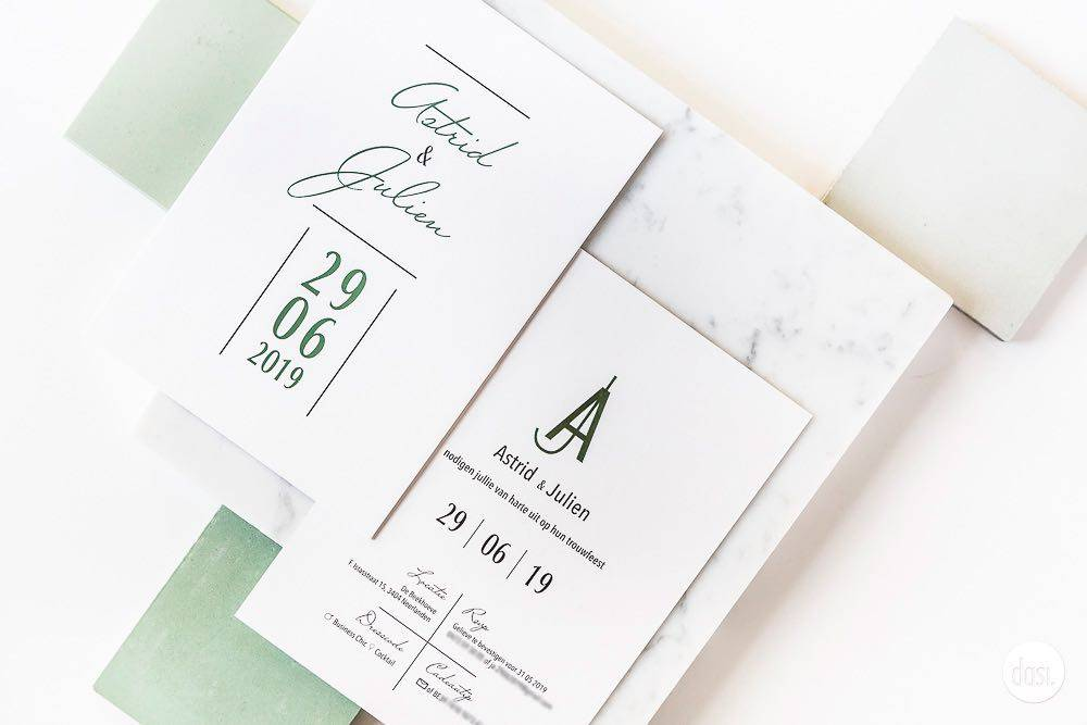 Dasi - Wedding Stationery - Grafisch design - Trouwuitnodiging - Huwelijksuitnodiging - House of Weddings - 17