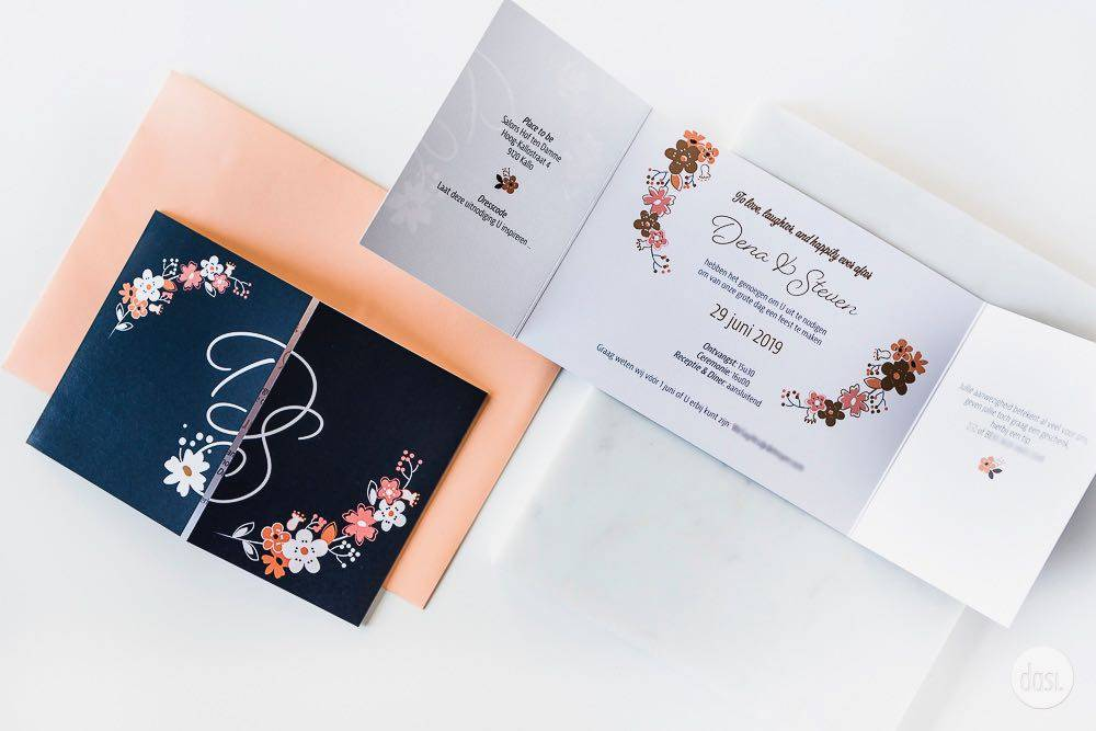 Dasi - Wedding Stationery - Grafisch design - Trouwuitnodiging - Huwelijksuitnodiging - House of Weddings - 24