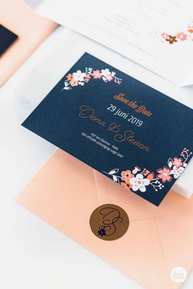 Dasi - Wedding Stationery - Grafisch design - Trouwuitnodiging - Huwelijksuitnodiging - House of Weddings - 25