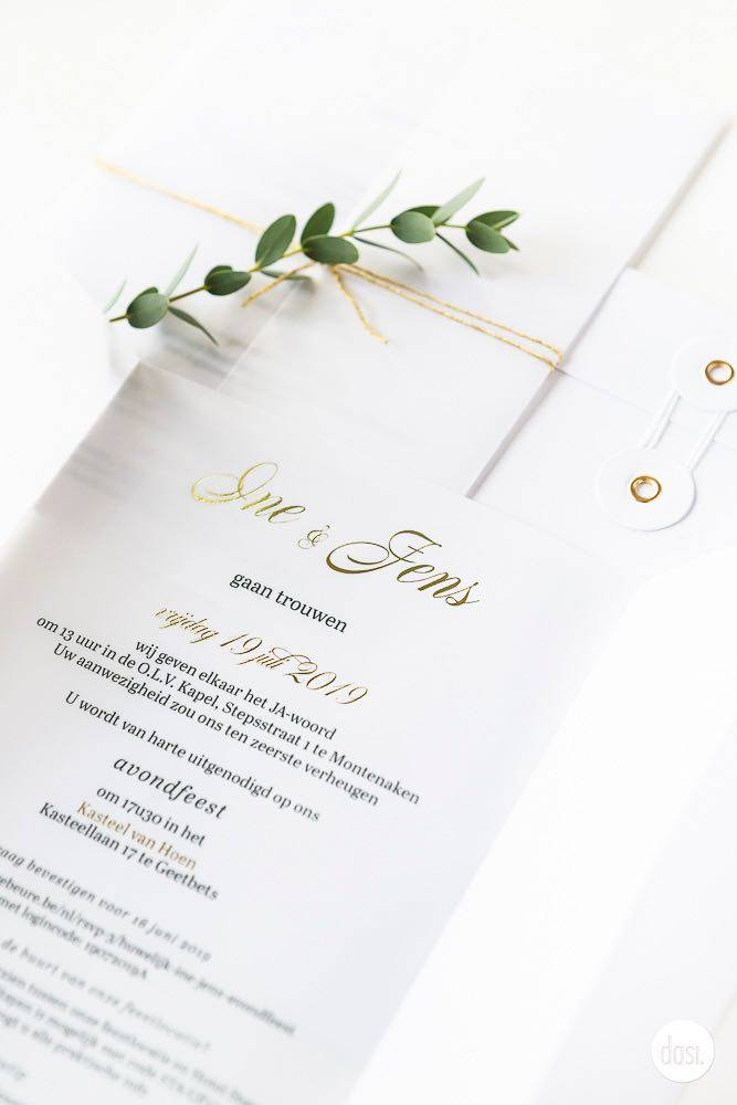 Dasi - Wedding Stationery - Grafisch design - Trouwuitnodiging - Huwelijksuitnodiging - House of Weddings - 4