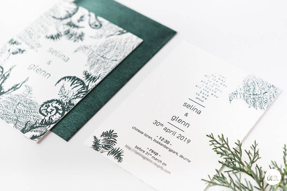 Dasi - Wedding Stationery - Grafisch design - Trouwuitnodiging - Huwelijksuitnodiging - House of Weddings - 5