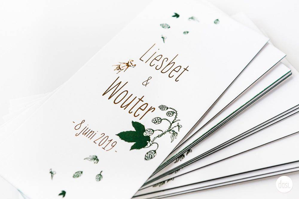 Dasi - Wedding Stationery - Grafisch design - Trouwuitnodiging - Huwelijksuitnodiging - House of Weddings - 7