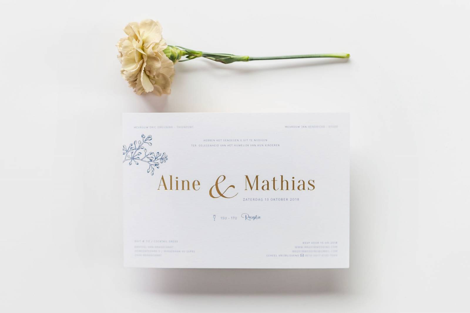 Designcards - Stationery - Trouwuitnodigingen - House of Weddings - 26