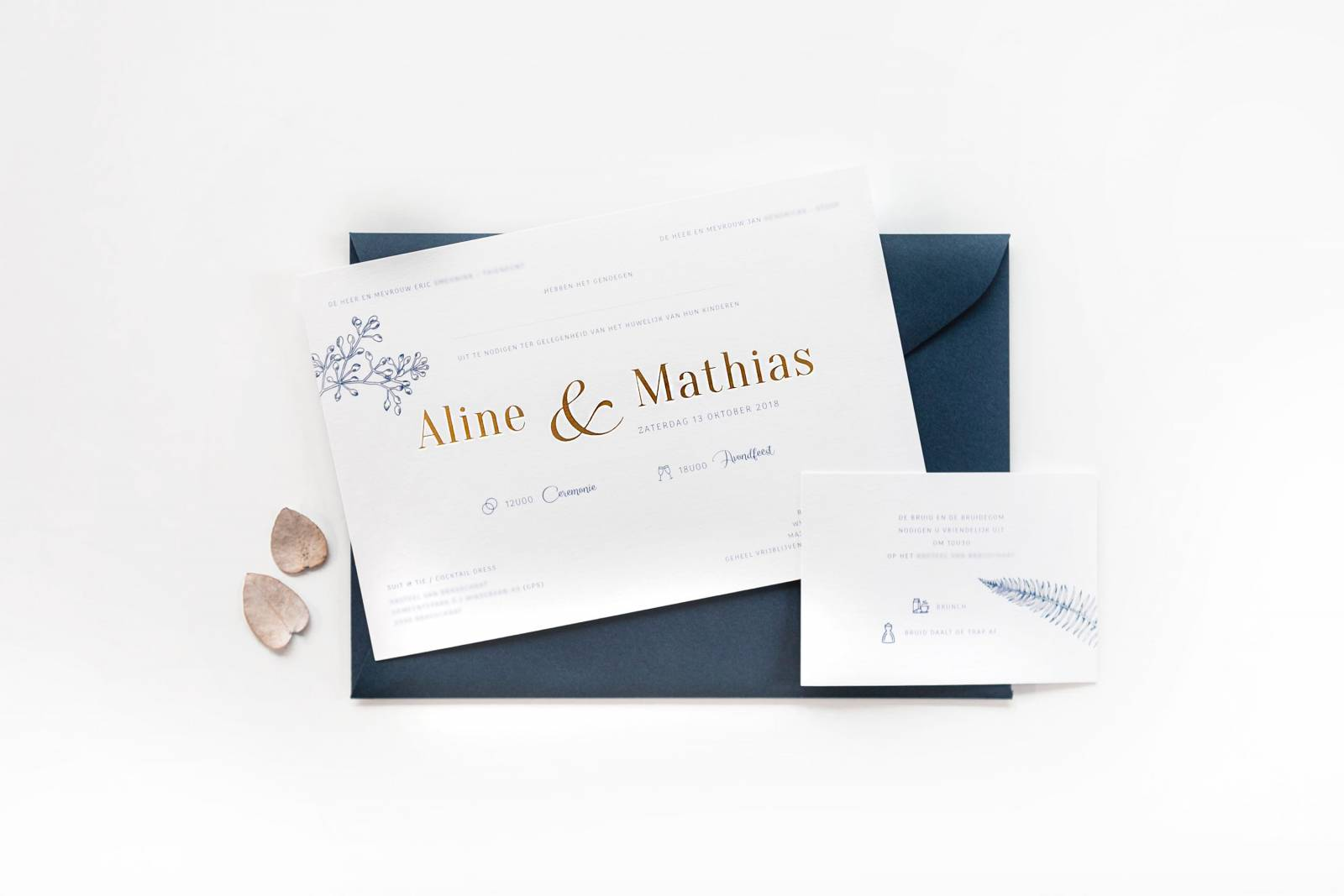 Designcards - Stationery - Trouwuitnodigingen - House of Weddings - 28