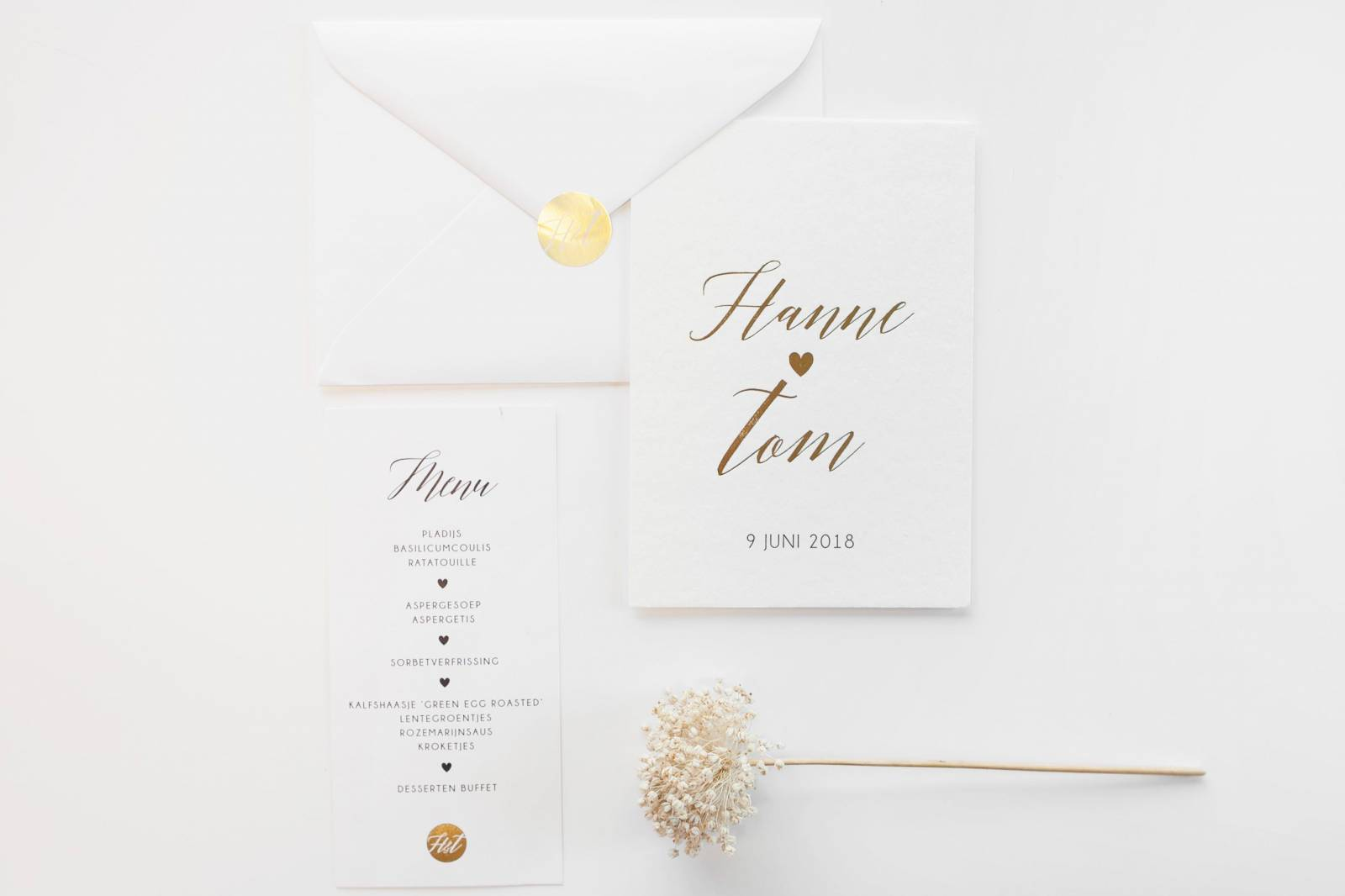 Designcards - Stationery - Trouwuitnodigingen - House of Weddings - 7