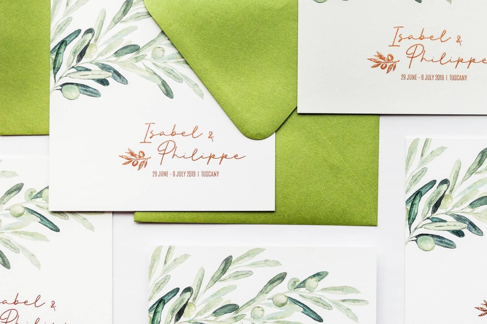Designcards - trouwuitnodiging - drukwerk huwelijk - grafisch design - House of Weddings - 13