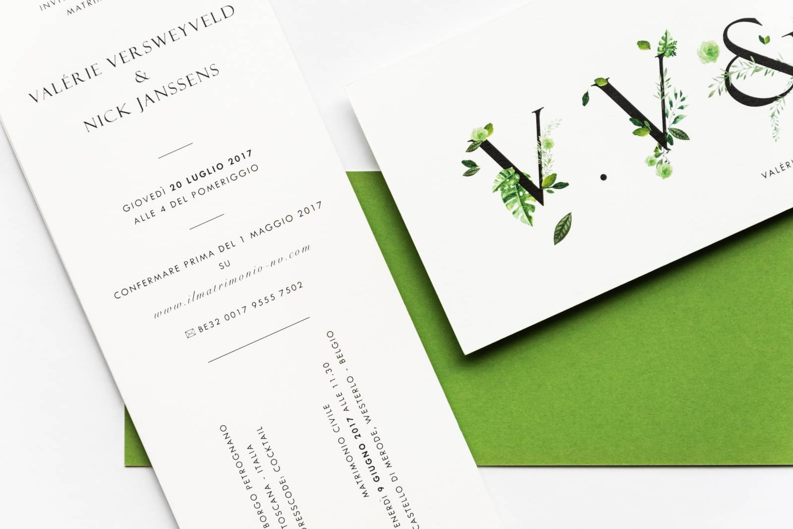 Designcards - trouwuitnodiging - drukwerk huwelijk - grafisch design - House of Weddings - 23