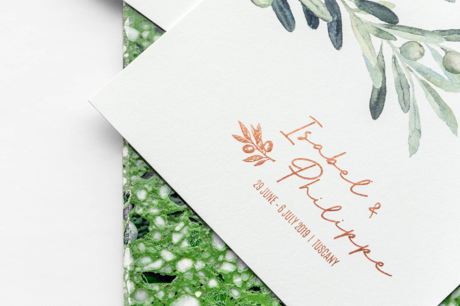 Designcards - trouwuitnodiging - drukwerk huwelijk - grafisch design - House of Weddings - 7