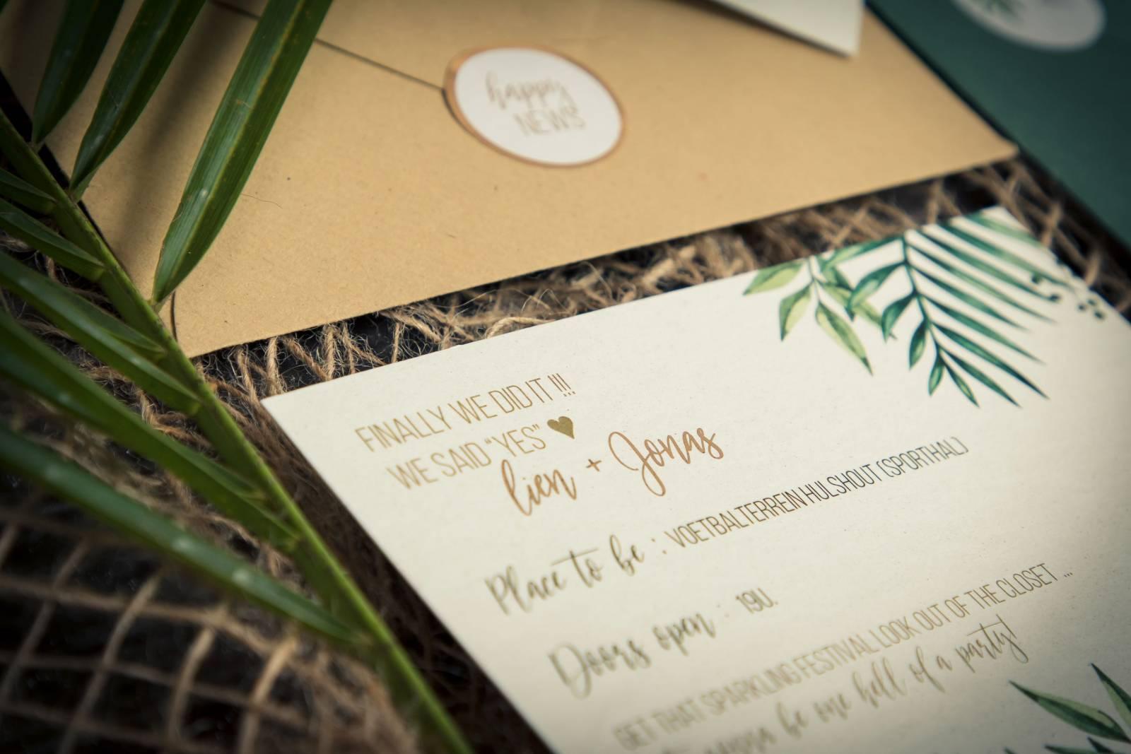Drukkerij Augustynen - Trouwuitnodiging - Huwelijksuitnodiging - House of Weddings - 20