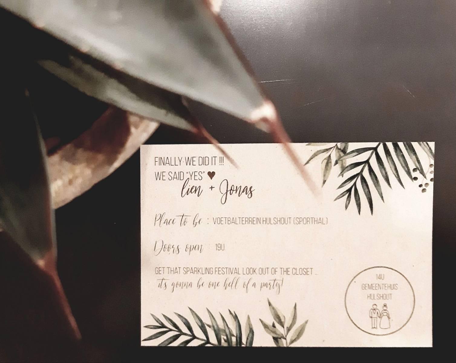 Drukkerij Augustynen - Trouwuitnodiging - Huwelijksuitnodiging - House of Weddings - 22