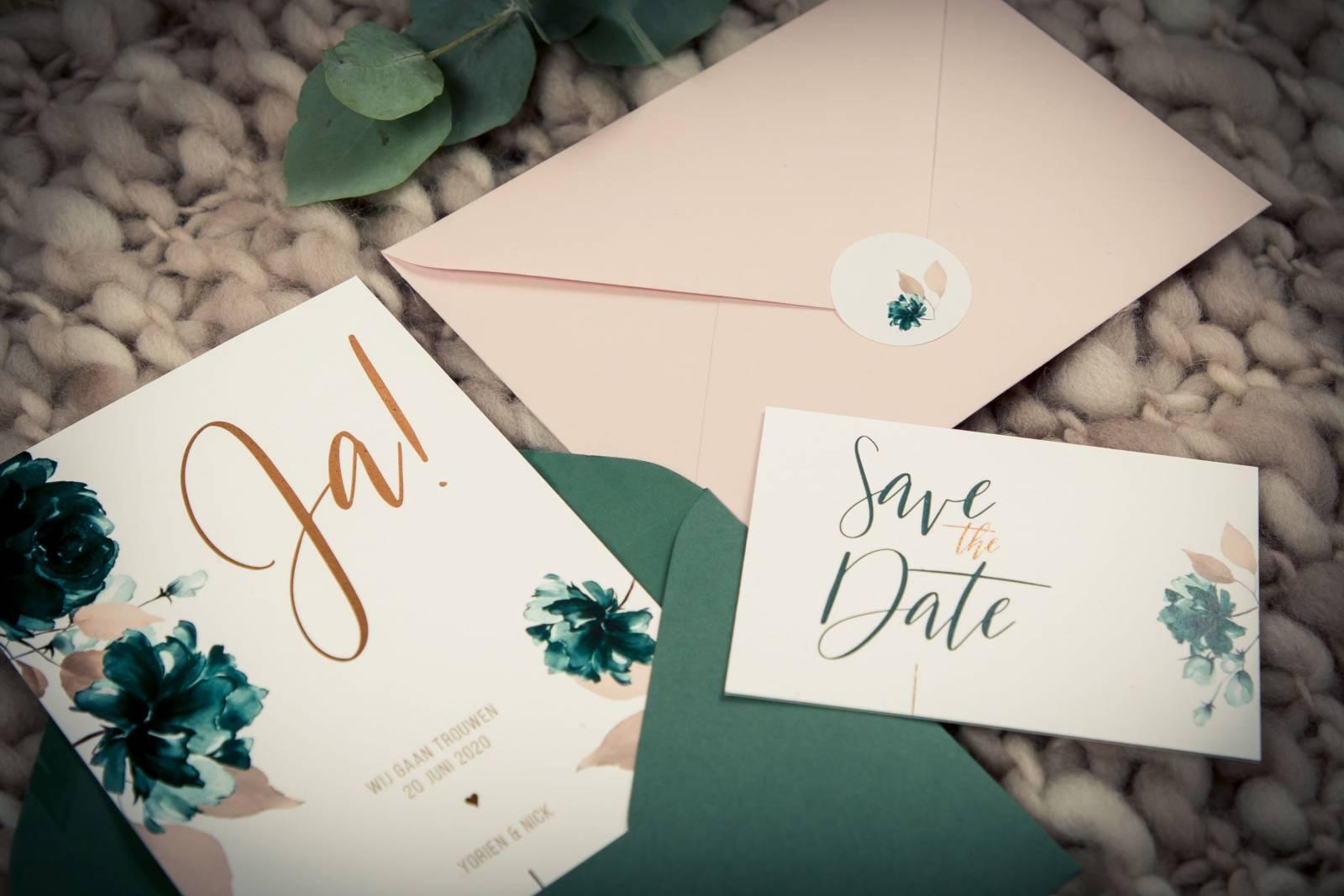 Drukkerij Augustynen - Trouwuitnodiging - Huwelijksuitnodiging - House of Weddings - 3