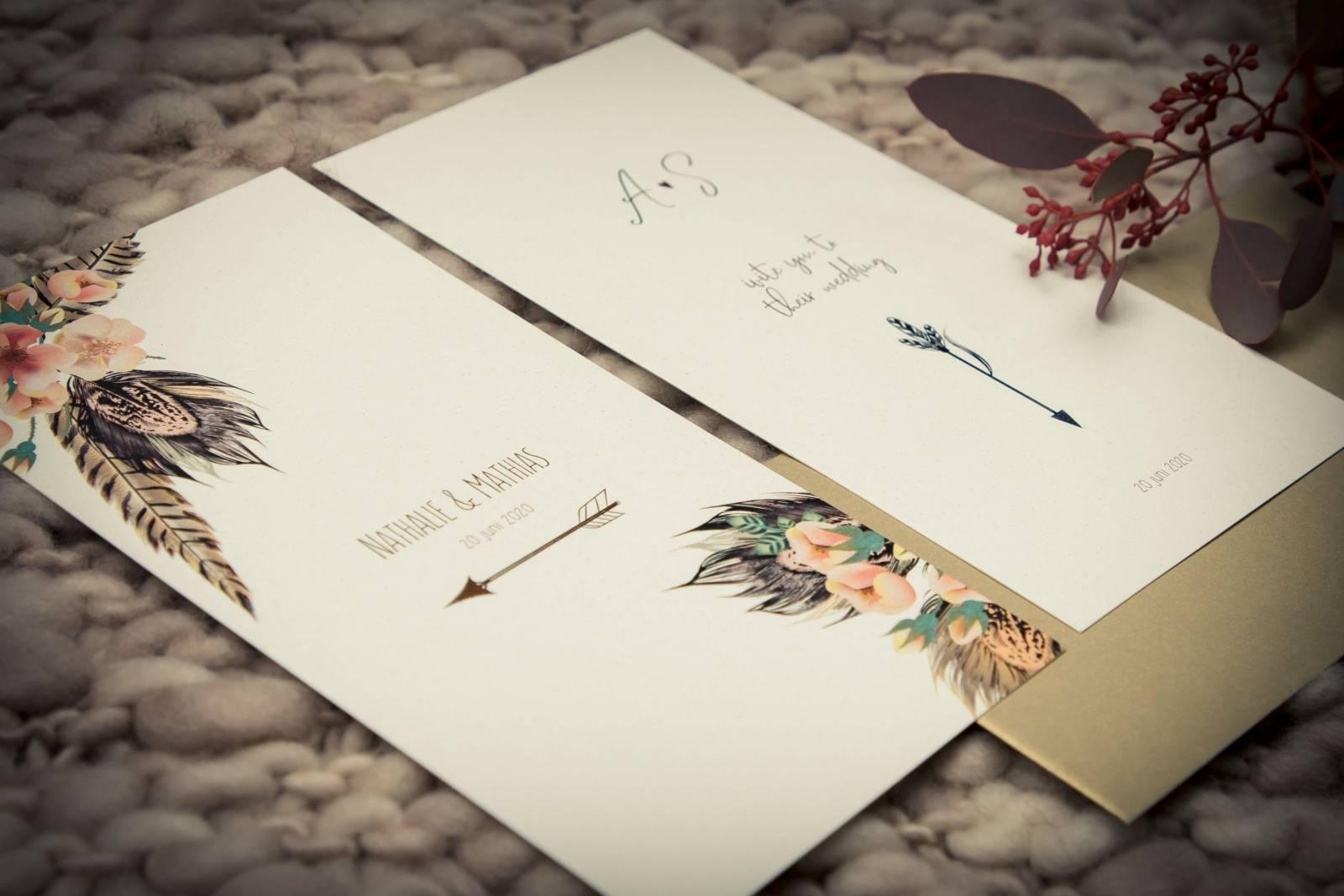 Drukkerij Augustynen - Trouwuitnodiging - Huwelijksuitnodiging - House of Weddings - 4