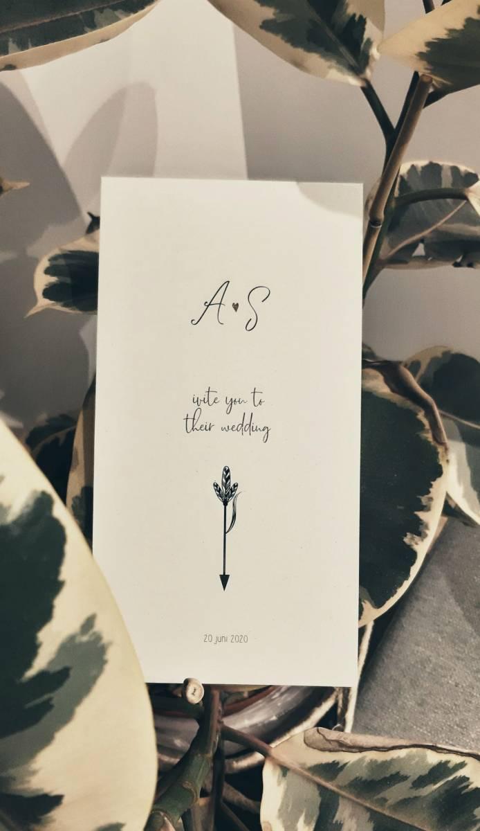 Drukkerij Augustynen - Trouwuitnodiging - Huwelijksuitnodiging - House of Weddings - 5