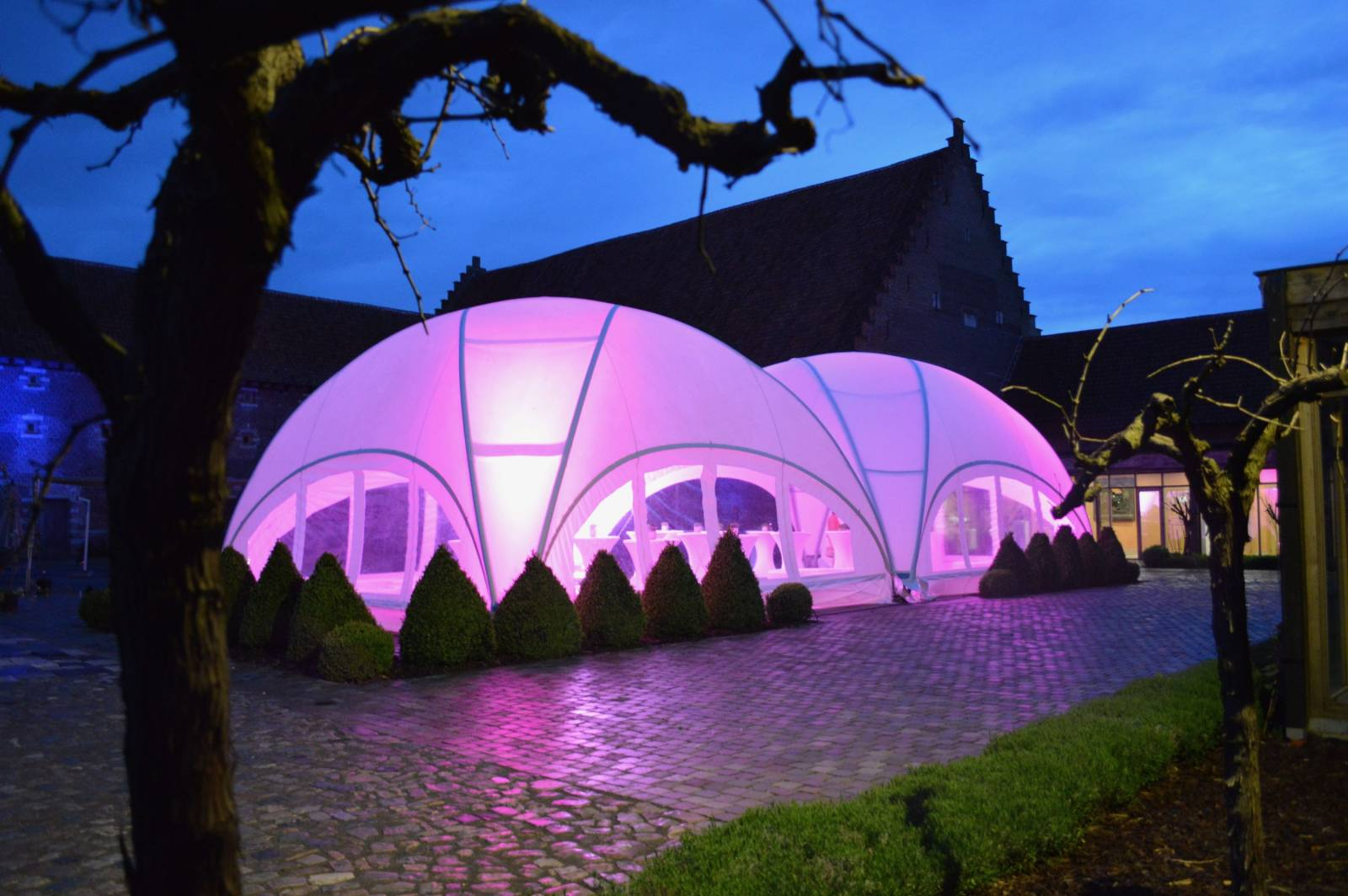 Feestverhuur Van Rompaey - Decoratie - Trouwdecoratie - House of Weddings - 16