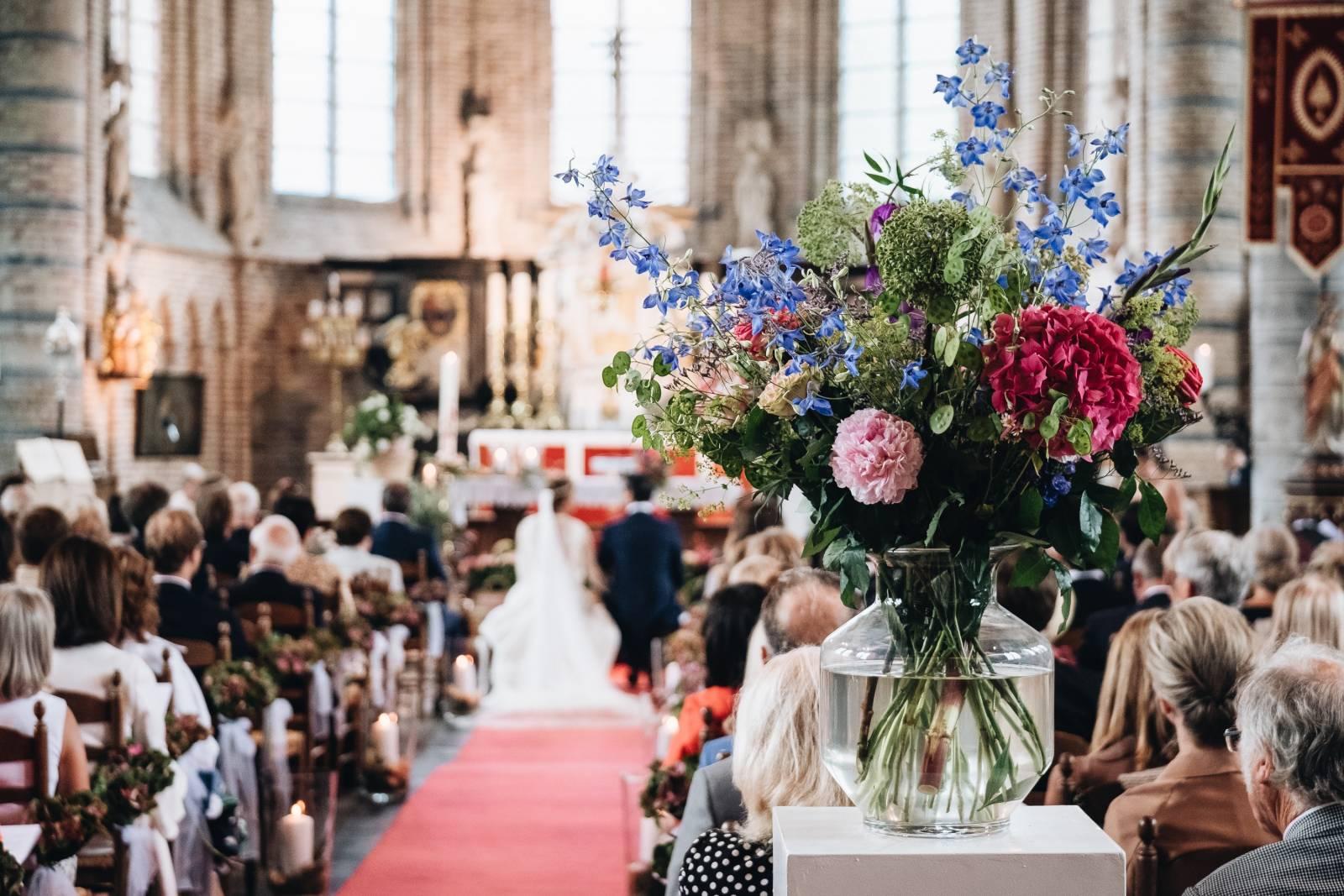 Florenza by Sylvie Van Gastel - Bloemen - Bruidsboeket - Magalie   Gregory - Morrec Photography - House of Weddings - 17