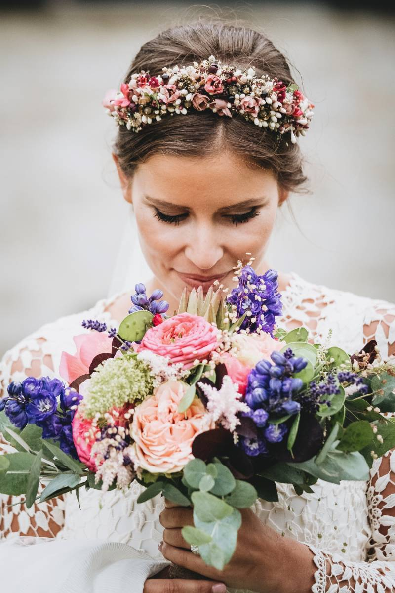 Florenza by Sylvie Van Gastel - Bloemen - Bruidsboeket - Magalie   Gregory - Morrec Photography - House of Weddings - 19