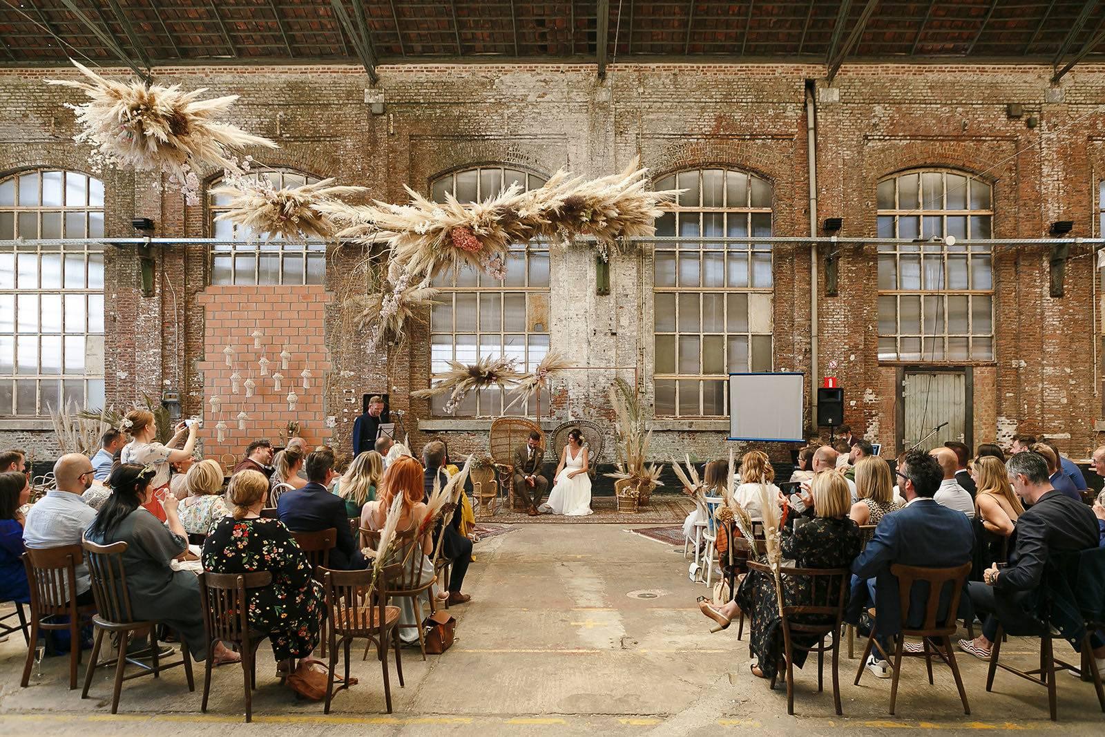 Ginger & Ginder - Klara _ Wim - ceremonie (c) Didier Bunkers - House of Weddings