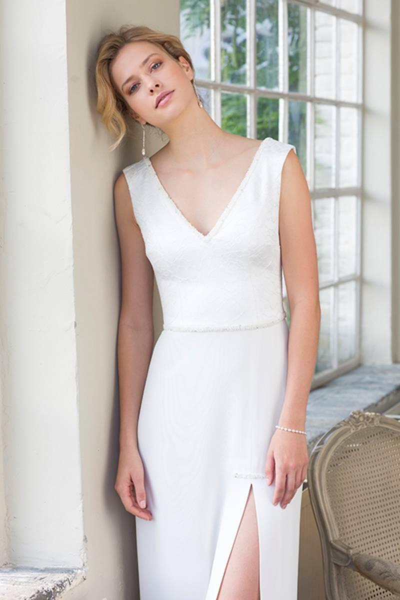 House of Weddings Dianna David Bruidsjurk Trouwjurk Bruidsmode Ontwerper Op Maat Brussel Couture (23) (Custom)