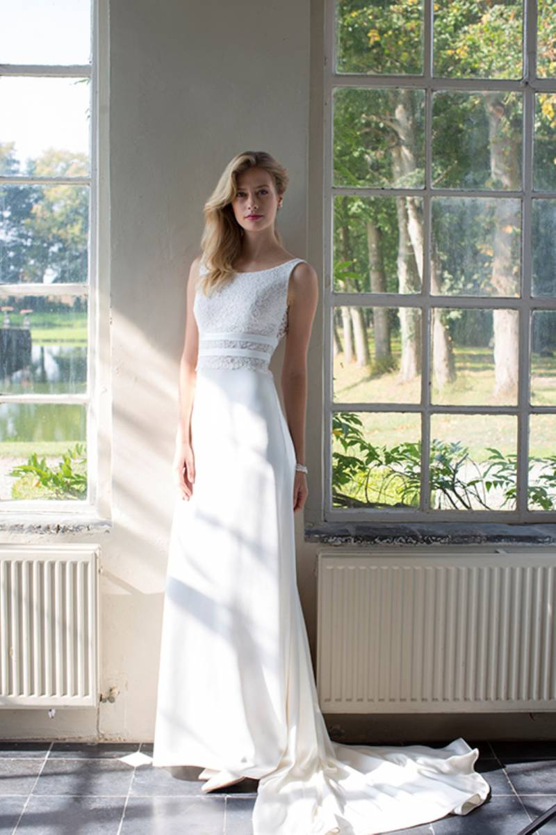 House of Weddings Dianna David Bruidsjurk Trouwjurk Bruidsmode Ontwerper Op Maat Brussel Couture (32) (Custom)
