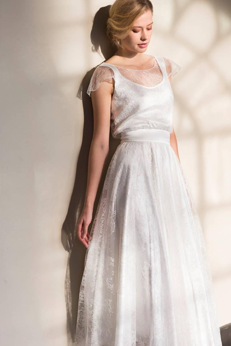 House of Weddings Dianna David Bruidsjurk Trouwjurk Bruidsmode Ontwerper Op Maat Brussel Couture (39) (Custom)