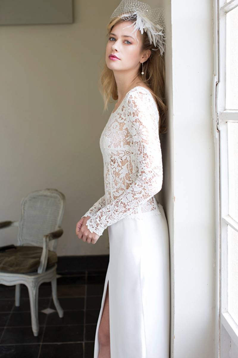 House of Weddings Dianna David Bruidsjurk Trouwjurk Bruidsmode Ontwerper Op Maat Brussel Couture (7) (Custom)