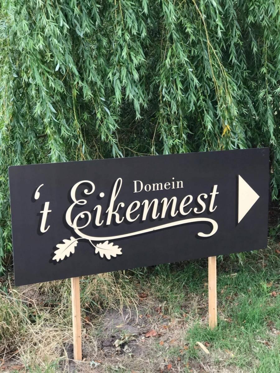 House of Weddings Domein t Eikennest Feestzaal West-Vlaanderen Diksmuide Beerst Tuin Park Vijver Tent Ceremonie Schuur pold (24)