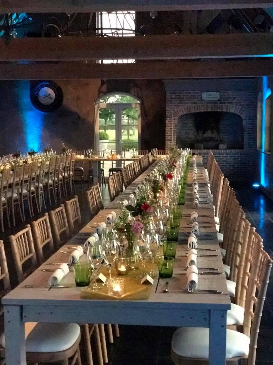House of Weddings Domein t Eikennest Feestzaal West-Vlaanderen Diksmuide Beerst Tuin Park Vijver Tent Ceremonie Schuur pold (25)
