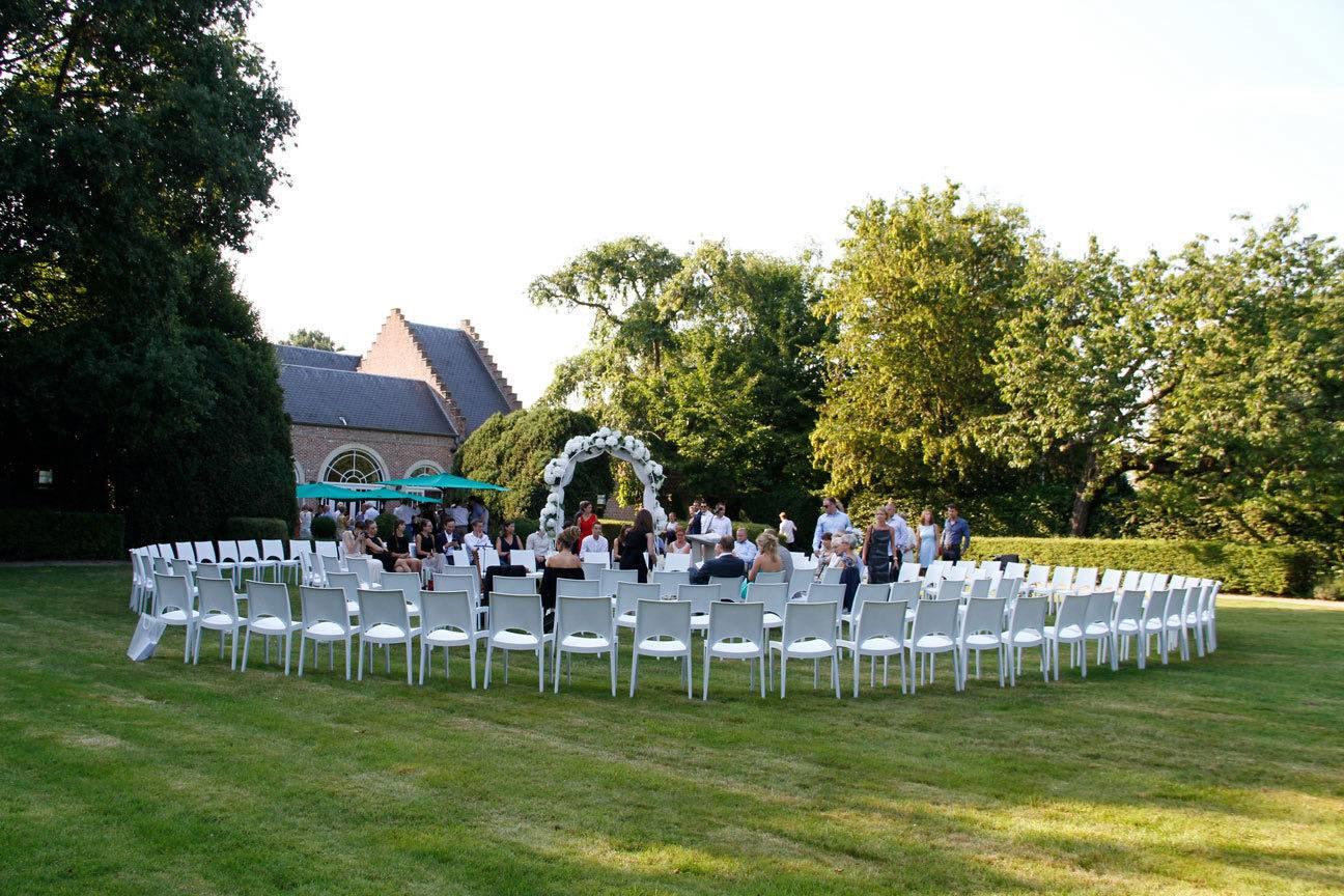 Huwelijks viering trouwplechtigheid Hof van Reyen Boechout (1) - House of Weddings