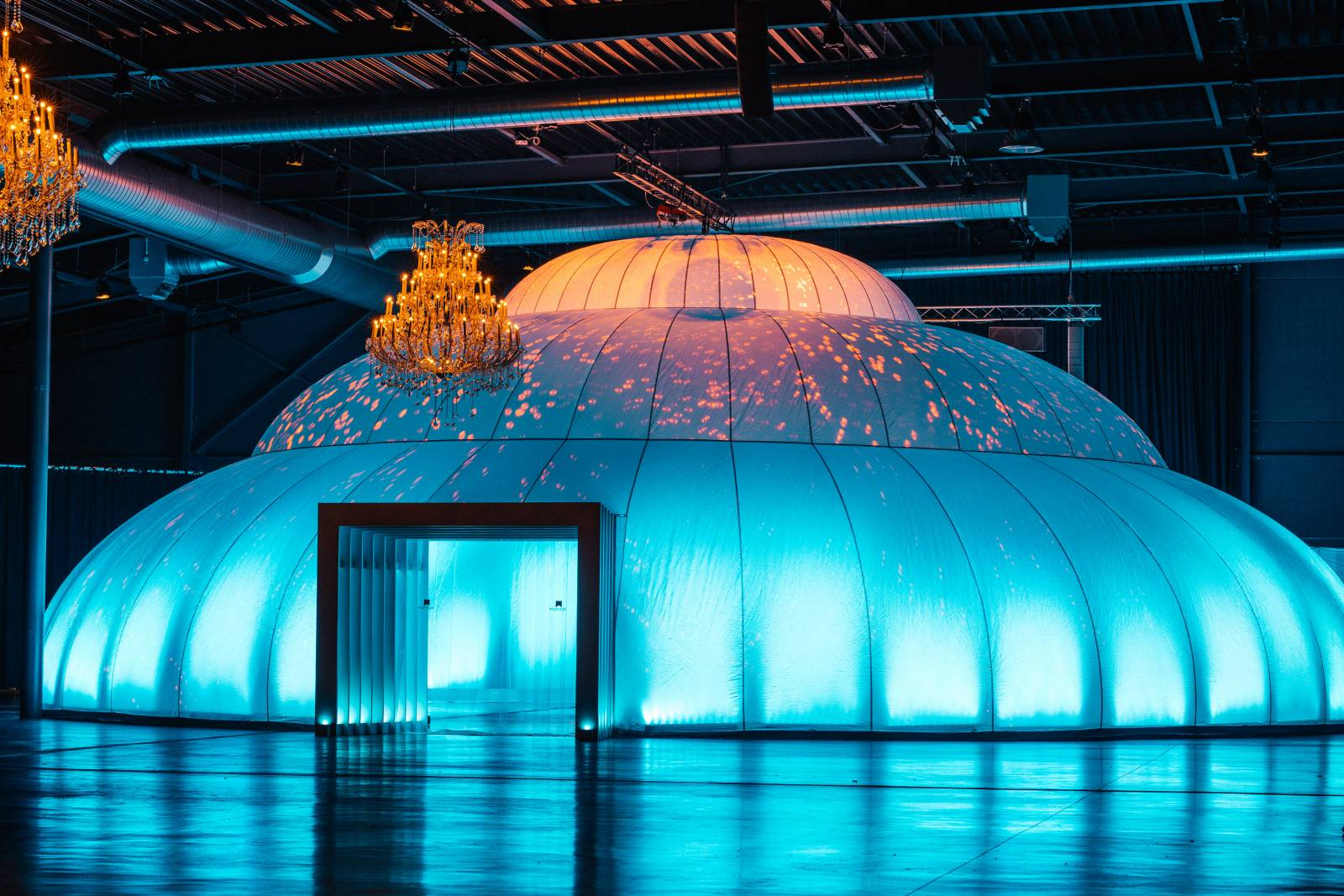 Insphere supersize indoor feesttent trouwlocatie huwelijk house of weddings (1)