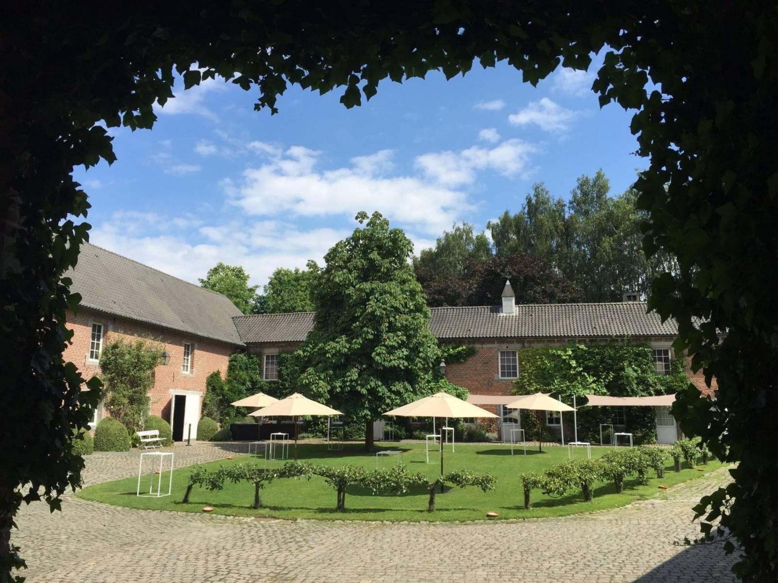 La ferme de Balingue House of Weddings feestzaal salle de fete lieu exceptionnel huwelijk mariage trouwen trouwzaal Brusse (24)